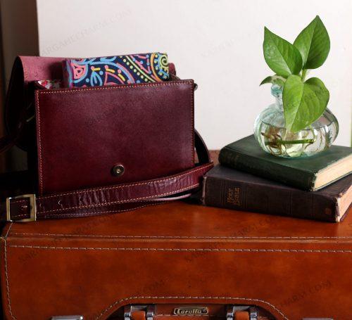 کیف چرم زنانه زینتی