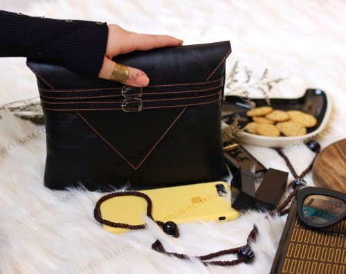 کیف چرم زنانه لوکس شیک طبیعی