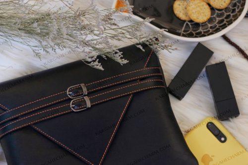 کیف چرم زنانه دست دوز خاص جادار