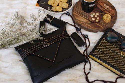 کیف چرم ضد آب هنری زنانه
