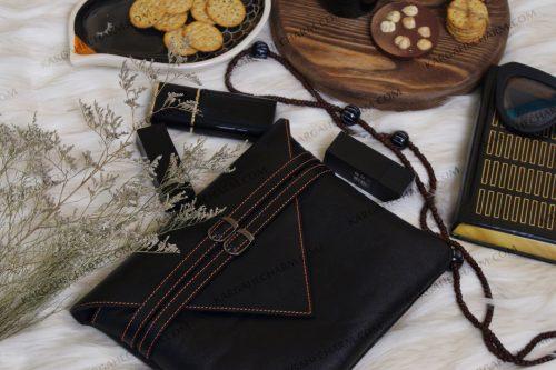 کیف چرم زنانه رنگی فانتزی خاص