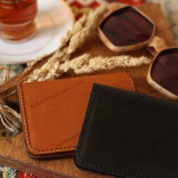 کیف کارت مدارکی چرم