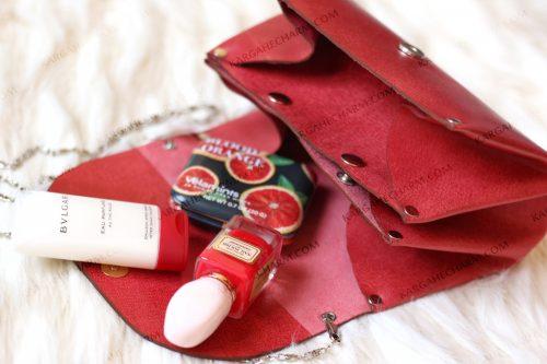 کیف چرم زینتی زنانه