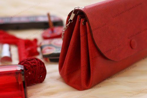 کیف چرم فانتزی زنانه