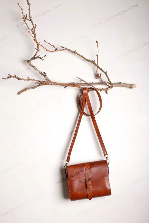 کیف چرم زنانه متفاوت هنری مد