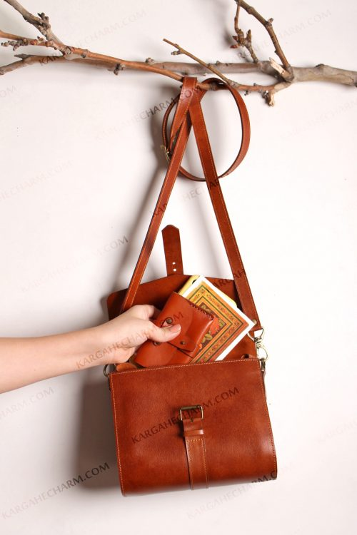 کیف چرم آرایشی مجلسی زینتی زنانه