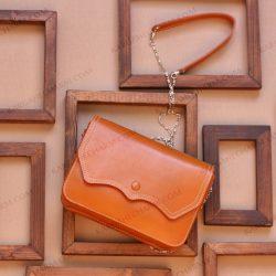 کیف چرم زنانه دست ساز تبلیغاتی لوکس