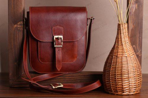کیف چرم مردانه متفاوت رنگی