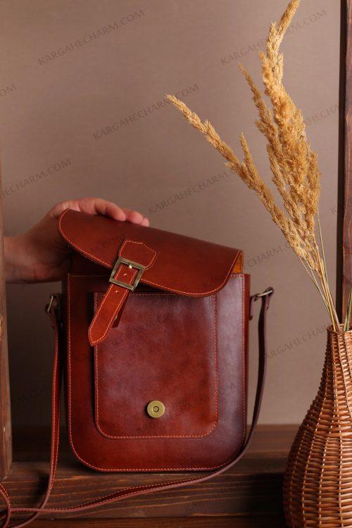 کیف چرم مردانه مد هنری
