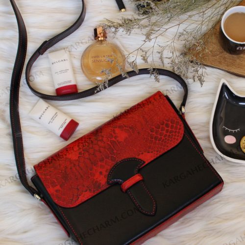 کیف چرم زنانه هنری