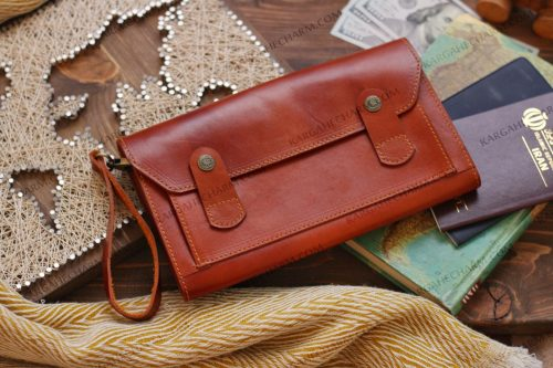 کیف چرم مردانه مجلسی