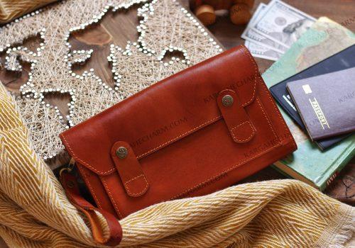 کیف چرم مردانه دست دوز