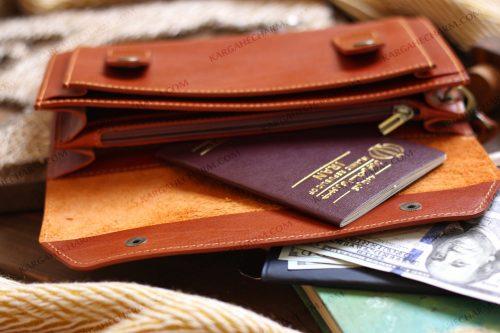 کیف چرم مردانه اسپورت
