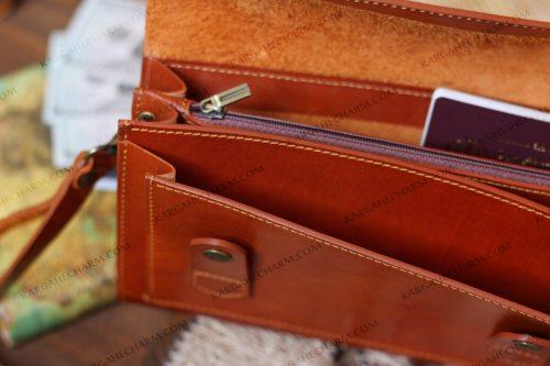 کیف چرم مردانه متفاوت