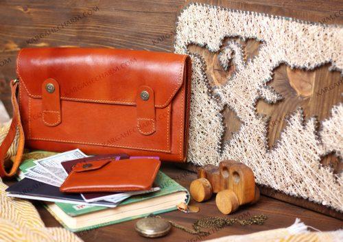 کیف چرم مردانه مدارکی