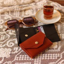 کیف کارت چرم طبیعی