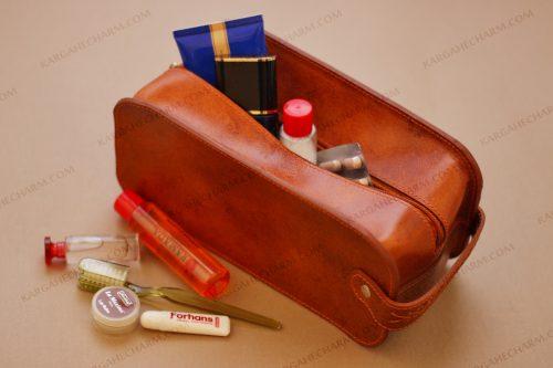 کیف چرم مردانه آرایشی