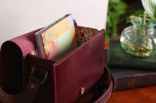 کیف چرم زنانه جادار