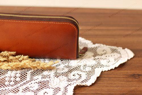 کیف پول چرم آرایشی