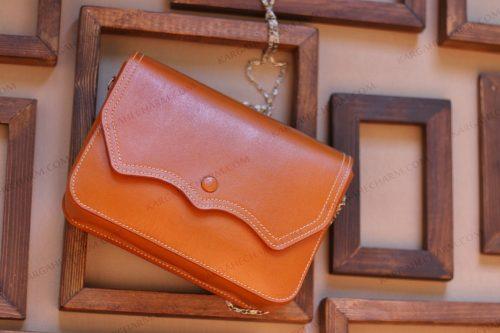 کیف چرم زنانه دست ساز دیپلمات شیک