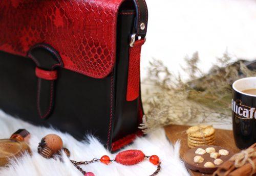 کیف چرم زنانه طبیعی