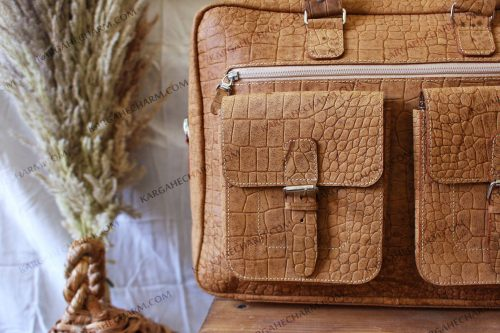 کیف چرم طبیعی مردانه