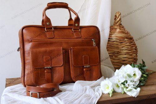 کیف چرم اداری مردانه