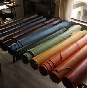 رنگهای مختلف چرم طبیعی
